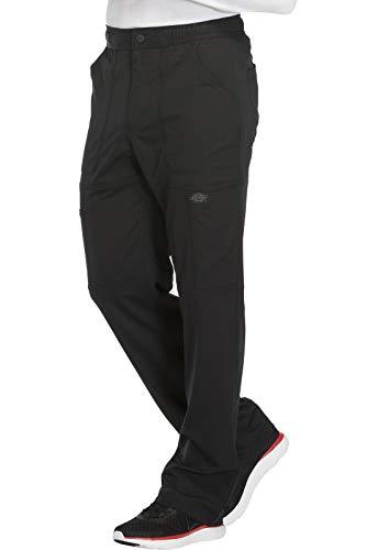 Dickies Dynamix Men's Men's Zip Fly Cargo Pant, DK110, S, Black