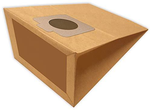 10 sacs d'aspirateur MX 1 adaptés à Moulinex 250, Altro, Compact 206, 210, 213, 214, 250, 259, 306, Moulinex Compact 1100, 1150
