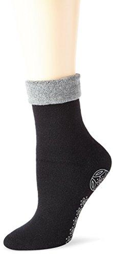 Elbeo Damen W mit ABS-Prin Socken, Schwarz (schwarz 9417), 42 (Herstellergröße: 39-42)