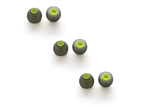 Replacement Silicone Ear Tips for JAYBIRD Freedom Sprint (JF3/JF4) 3 Pairs (Medium)