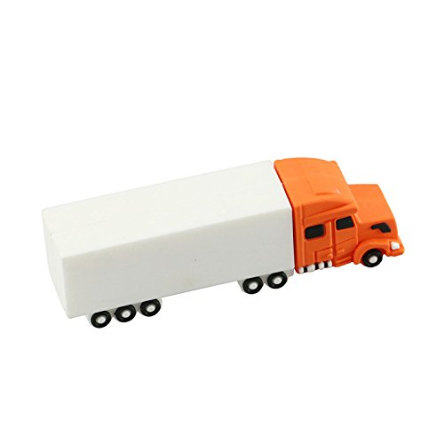 16GB Orange camión Modelo pendrive Flash Drive USB Flash Card USB 2.0 USB Stick USB Drive Disco Flash USB Thumb Drive USB Stick