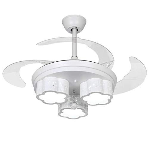 Preisvergleich Produktbild ZHSHOUCHENG LED Invisible Fan Chandelier,  Home Schlafzimmer / Esszimmer / Wohnzimmer / Kinderzimmer / Mode Deckenleuchte Lüfter Kronleuchter [Energieklasse A ++]
