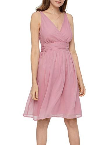 Vero Moda Vmjosephine SL Above Knee Dress Color Vestido para Mujer