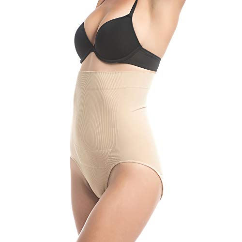 C-Panty C-Section Support, Recovery High Waist Panty by UpSpring Baby, L/XL Nude
