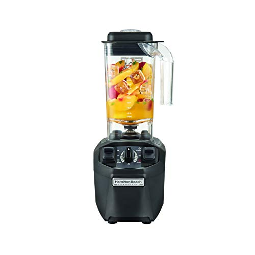 Hamilton Beach Commercial Tango Blender, 48 oz BPA Free Container, Adjustable Timer, 2.4 HP (HBH455)