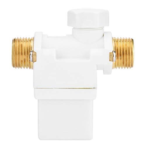 Válvula de solenoide eléctrica DC 12V G1/2'Válvula de energía solar de solenoide eléctrica para control de interruptor automático de artículos sanitarios calentador de agua solar riego por aspersión
