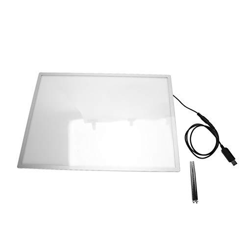Tomanbery Caja de luz LED Caja de luz para póster con Soporte de Metal Resistente para Uso Profesional para peluquería Eficiente para Uso Personal