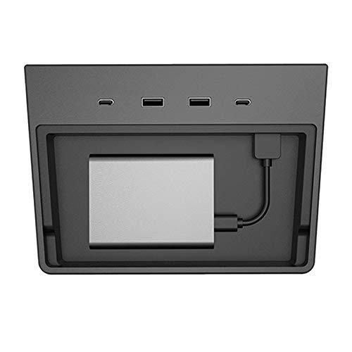 Hub USB, Panel De Instrumentos Y Visor De Modo De Envío USB, 5 En 1 Y 6 En 1 Puertos para El Modelo T-Esla 3 (Puerto 5 en 1 - Antiguo)