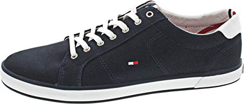 Tommy Hilfiger Herren Schuhe Lace Up Sneaker Harlow Blau Sneakers 43 EU