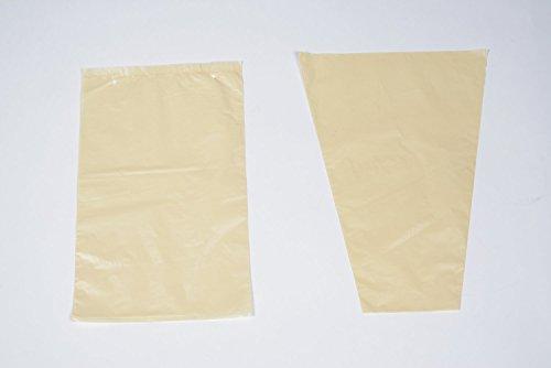 Bolsas cónicas de Plástico Micro Perforado Protectoras de Racimos de Uvas en Parra Control de Plagas de Insectos, Avispas, Hongos y Aves   Pack de 100 (Cada BOLSA: 30x42 cm)   Abierta por debajo