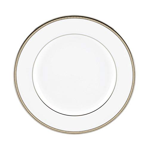 Kate Spade New York 792048 Sonora Knot - Plato para ensalada, porcelana, color negro