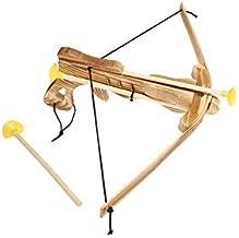 Fantashion W 70 Ballesta de Madera con Dos Flechas