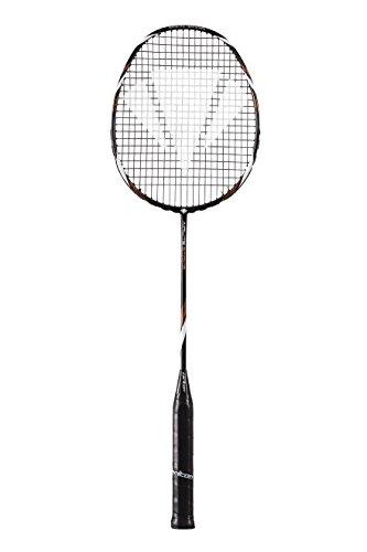 Dunlop Badmintonschläger Carlton Air-Lite Tornado, Schwarz/Lila, L 4