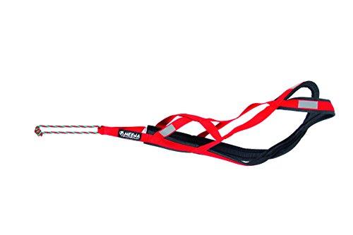 Neewa Sled Pro Harness (X-Large, Red), Dog Pulling Harness, Husky Harness, Mushing Harness, X Back Harness Dog for Dog Exercise, Bikejoring, Skijoring, Dog Sledding, Canicross, Scootering