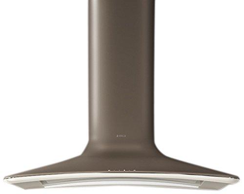 Elica SWEET UMBER/F/85 - Campana (Recirculación, 500 m³/h, 500 m³/h, Montado en pared, LED, Marrón)