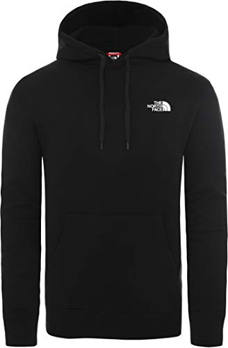 The North Face Heren Grafische trui met capuchon, Zwart
