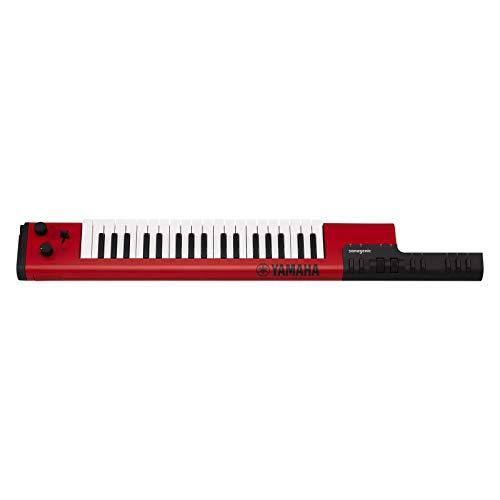 Yamaha Sonogenic SHS-500 keytar - Teclado digital con función JAM, Audio USB y MIDI Bluetooth, color rojo