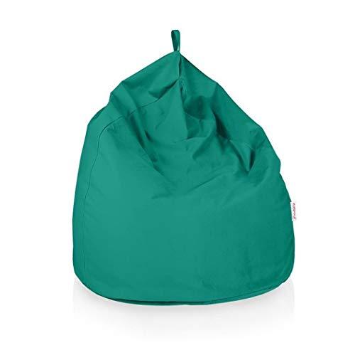Italpouf Pouf Sacco Gigante XXL 100 Ø x 130 cm Pouf Sacco Morbido Tessuto Microfibra! Pouf Sacco Sfoderabile! Puff Sacco Imbottito! Poltrona Sacco 19 Colori (Pouf Sacco Gigante XXL, Turchese)