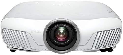 Epson EH-TW7400 4K Enhancement UHD 3LCD-Beamer (3.840x2160p, 2.400 Lumen Weiß- und Farbhelligkeit, Kontrast 200.000:1, HDR, 3D, optionales WLAN, motori. Lens-Shift) Weiß