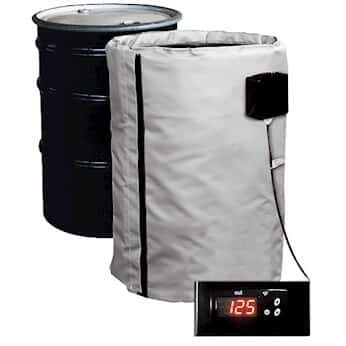 Best Deals! BriskHeat FGPDHC55240D 55gallon, Full Coverage, Plastic Drum Heater, Single Zone- 240 V