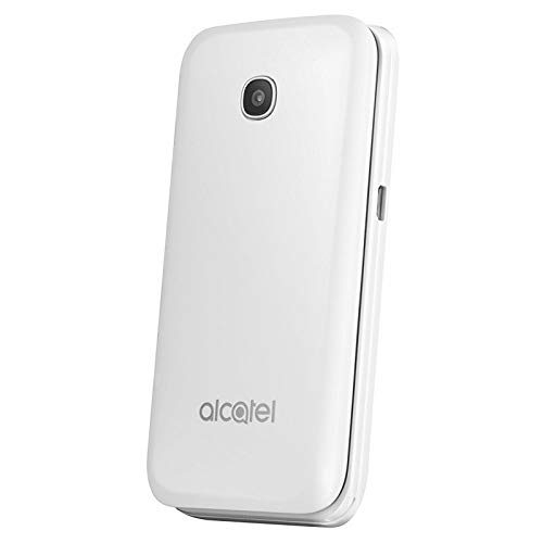 Alcatel 772297 6,09 cm (2,4 Zoll) 20.51, Mobilephone, 8GB Pure weiß