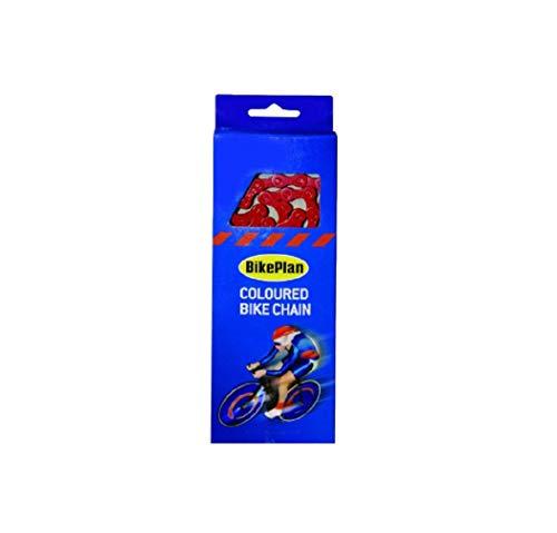 Global Accessorie Puños Mango Bar Plan Bike ', Fácil Ajuste de Empuje, de Color Rojo, Bicicletas BMX, de montaña