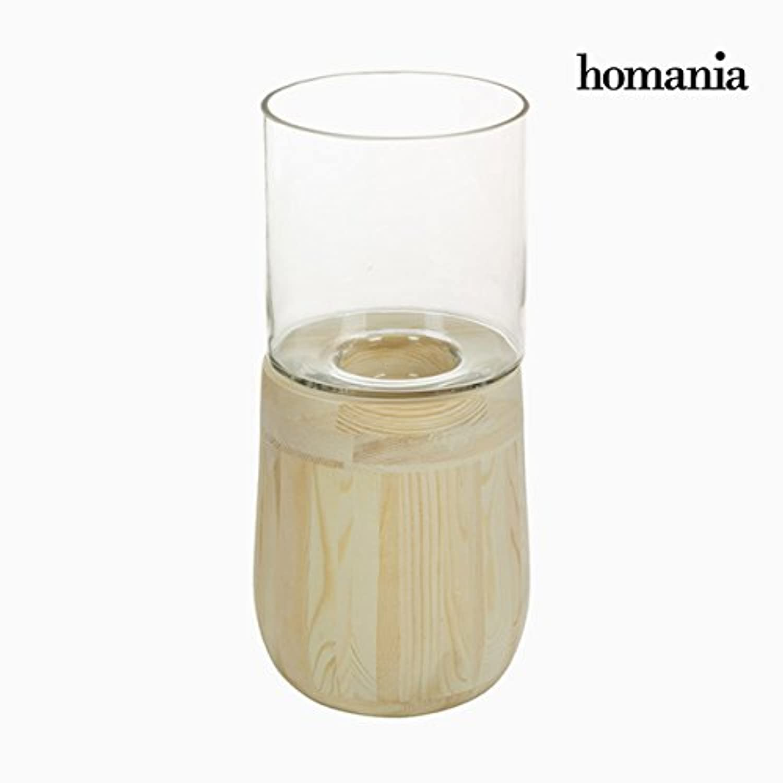 Portavelas Vidrio Madera - Colección Pure Crystal Deco Deco Deco by Homania B074N8ZNSK | Trendy  f1c9bf