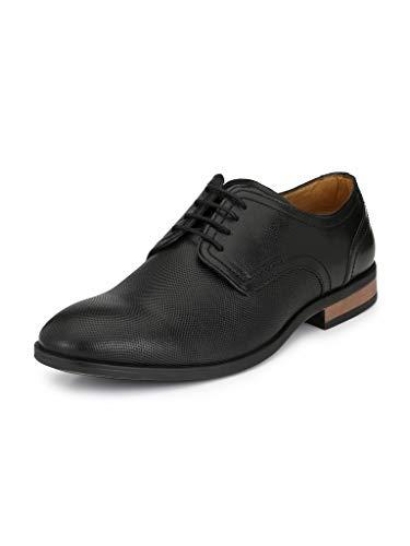 Alberto Torresi Men Chris Derby Shoes Black