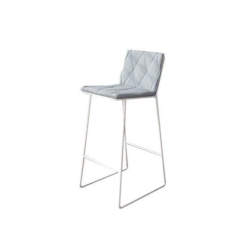 SuRose Stuhl Einfacher Barhocker Schmiedeeisen Bar Gold Hoher Hocker Modern Dining Metal Wire Nordic Bar