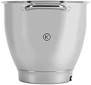 Kenwood 不锈钢碗 KAT811SS,适合Kenwood Titanium XL,6.7 升,可用洗碗机清洗,亮面带手柄