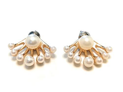 Leah Maria Otoño Mode Trend Shamballa perlas de mujer joyas pendientes pendientes