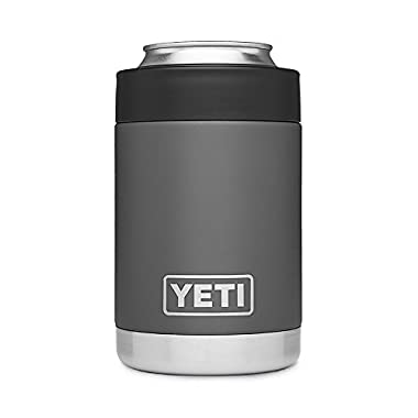 YETI Rambler Vacuum Insulated Stainless Steel Colster, Charcoal
