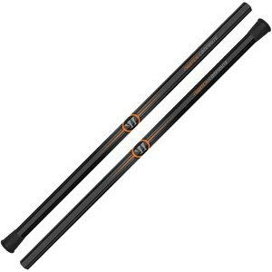 Warrior Switch Comp Attacker Lacrosse Shaft, Black, 30-Inch