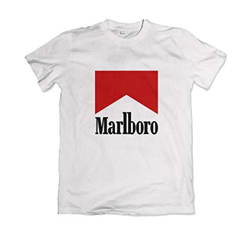 Marlboro T Shirt Unisex Weiß S-XXL (M)