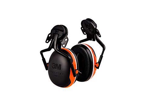 3M PELTOR Earmuffs X4P5E, Forestry Orange, 10 EA/Case