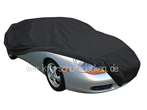 AMS Vollgarage Anti-Frost für Porsche Boxster 986 & 987, wetterfeste Autoabdeckung für optimalen Frostschutz, Winterabdeckung mit Perfekter Passform, wasserfest & super leicht