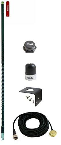 FL3-B Three-Foot CB Antenna kit Black