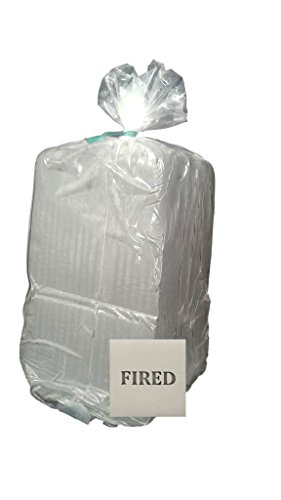 Aurora Pottery - White (talcless) Clay (Low-Fire) - Cone 06 - Create Something That is Fires to AWhite with Smooth Texture (50 Pounds)