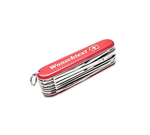 Victorinox Handyman Taschenmesser mit Gravur I Geschenk für Männer I Geschenke zum Geburtstag I Messer mit Gravur