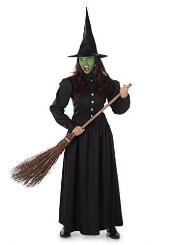 CHILDRENS GIRLS STREGATI Strega Costume Di Halloween Costume Vestito 8-10 anni
