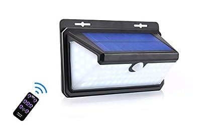 Outdoor Lights Waterproof Led Solar Light Security Wireless Wall Lights for Garden, Patio, Fence, Yard, Driveway, Front Door