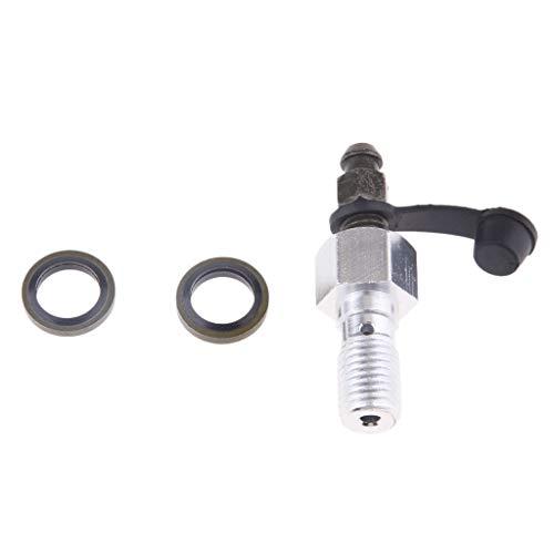 Almencla Schraube M10 x 1,25 mm Entlüftungsschraube Ersatzteile Zubehör Bremssättel für Motorrad
