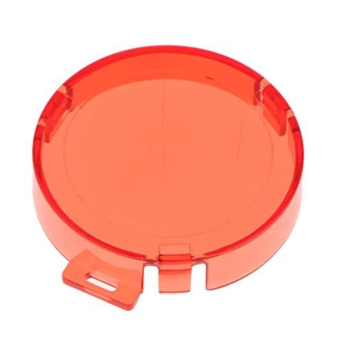 Gazechimp Filtro De Color De Buceo para AKASO EK7000 Funda Impermeable para Carcasa De Surf - Rojo