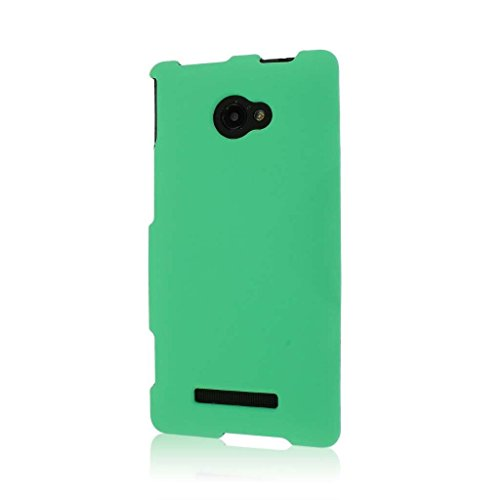 MPERO SNAPZ - Cover in policarbonato Rivestito in Gomma per HTC Windows Phone 8S, Colore: Verde Menta