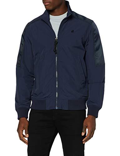 G-STAR RAW Mens Meson Track Jacket, Sartho Blue A281-6067, Medium