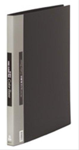 キングジム クリアーファイル カラーベース 差替式 B4S 149 黒