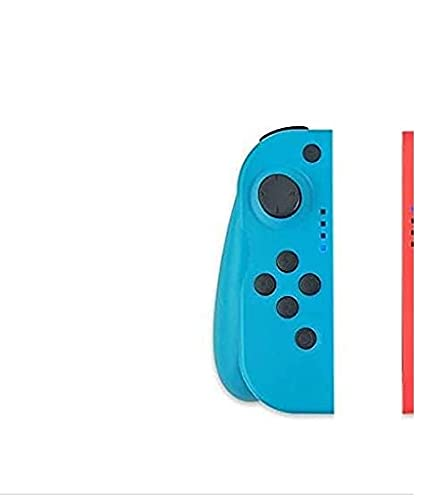 Mandos Switch para N-Switch Wireless Bluetooth Controller Gamepad Joystick Controlador De Reemplazo Izquierdo Y Derecho para Joy, Doble Vibrac