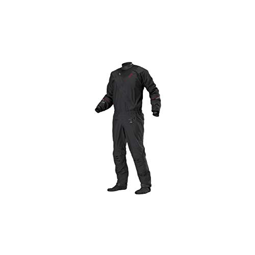 Stohlquist Ez Drysuit (Black, X-Large)
