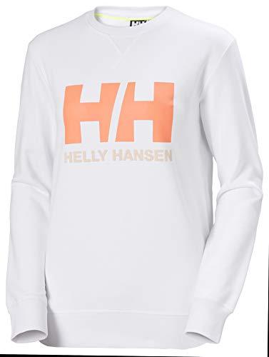 Helly Hansen Sweat-Shirt avec Logo pour Femme. M Blanc.