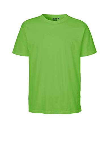 Green Cat- Regular T-Shirt, 100% Bio-Baumwolle. Fairtrade, Oeko-Tex und Ecolabel Zertifiziert, Textilfarbe: Limette, Gr.: XS